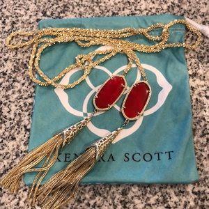 Kendra Scott Long Wrap Pendant Necklace